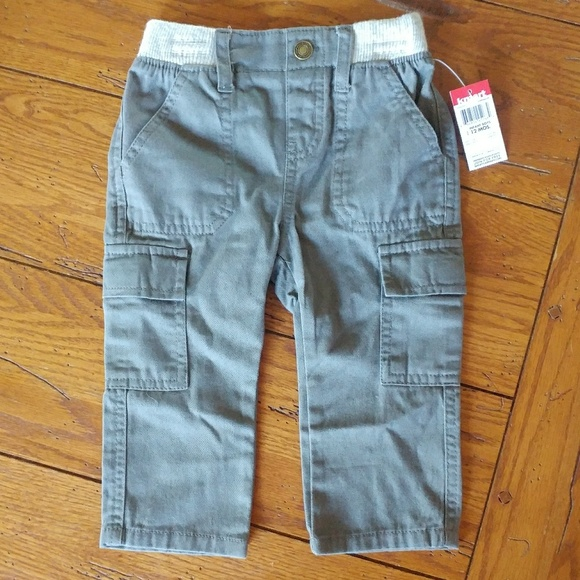 a0ad11992 Wonder Kids Bottoms | Nwt 12 Month Boys Gray Cargo Pants Kmart ...